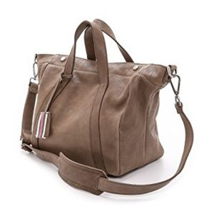 Madewell Stockholm Satchel in Mink Crossbody Taupe
